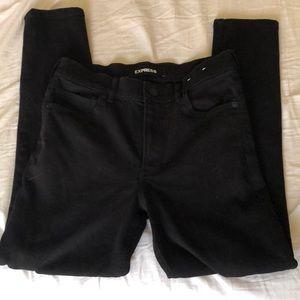 Express high waisted jeans